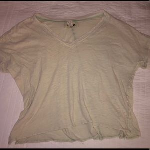 Free People Slouchy V-Neck